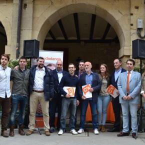 Presentación de la candidatura de Ciudadanos Laguardia