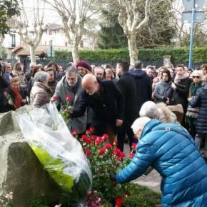 Ciudadanos Euskadi presente en el homenaje en memoria de Fernando Buesa y Jorge Diaz