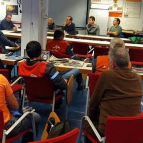 Ciudadanos se reúne con trabajadores y comité de empresa de ArcelorMittal Sestao - ACB