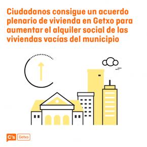 Ciudadanos Getxo entrega su plan de vivienda
