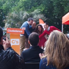 Inicio de campaña de C's Euskadi en Donostia-San Sebastián