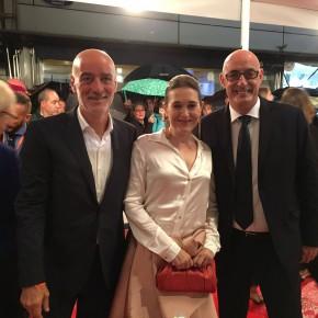 De Miguel: 'El Festival de Cine de San Sebastián es un ejemplo de proyección cultural internacional que debemos fomentar en Euskadi'