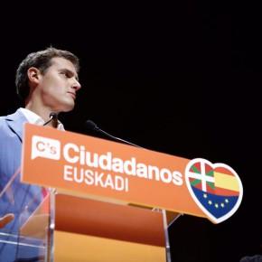 Rivera: 'Pido el voto a todos los ciudadanos que tengan dudas, votar al PSE o al PP no va a cambiar nada'