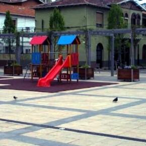 Cs pide de nuevo al gobierno de Getxo que implante una zona  de juegos infantil en la Plaza de Santa Eugenia de Romo