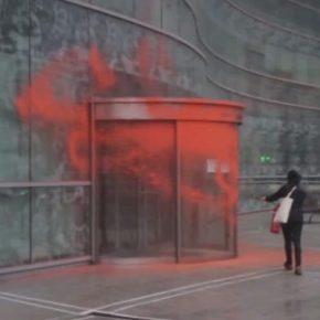 Cs en Euskadi recrimina el ataque a la sede de la Agencia Vasca de Turismo promovida por la 'turismofobia' de los abertzales