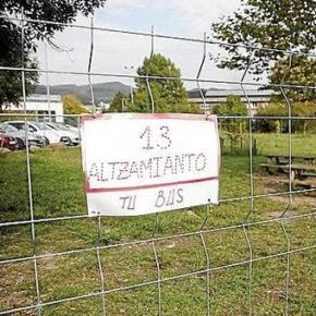 Cs San Sebastián pone de manifiesto la desidia del Ayuntamiento donostiarra para solucionar el problema del amianto junto al colegio público de Altza.