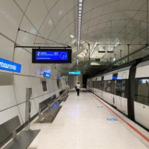 Ciudadanos manifiesta su apoyo a la pasante del metro en Donostia