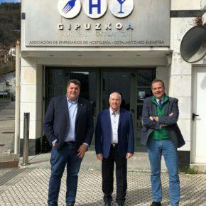 Ciudadanos Donostia se reúne con la asociación de Hostelería de Gipuzkoa para conocer sus preocupaciones y reivindicaciones.