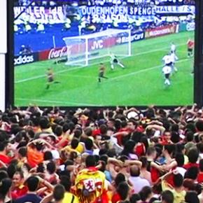 El grupo municipal Ciudadanos Getxo pide habilitar espacios para poder ver los partidos de la selección española del Mundial de Rusia