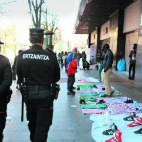 Fernando García, sobre la venta ambulante ilegal en Bilbao