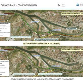 Alberto Carril, portavoz de Ciudadanos (Cs) Margen Izquierda se reúne con Barakaldo Naturala para la propuesta de alternativas a la Variante Sur Ferroviaria