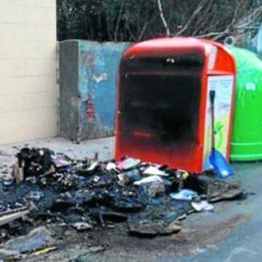 Ciudadanos Getxo exige al alcalde que tome medidas por la reiterada quema de contenedores en Getxo