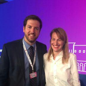Ciudadanos Euskadi participó en el congreso de los liberales europeos en Madrid