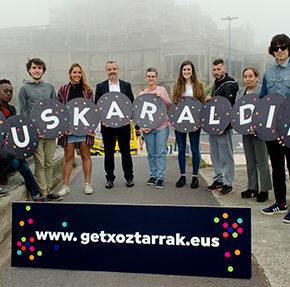 El Grupo Municipal Ciudadanos se desmarca de la iniciativa Euskaraldia en Getxo por no compartir el criterio del Gobierno local con el cartel de la iniciativa