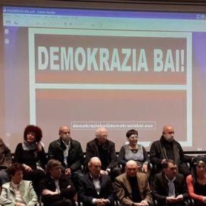 """Luis Gordillo: """"Demokrazia Bai es más de lo mismo: un proyecto excluyente en el que sólo están comodos los nacionalistas"""""""