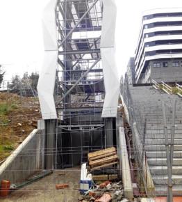 El Grupo Municipal Ciudadanos Getxo pide explicaciones a la Comisión de Urbanismo por el retraso de las obras del ascensor entre Arene y Areneondo