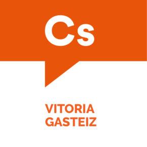 Iñaki Sánchez y Marta Irurzun conforman el ticket electoral de Ciudadanos para la alcaldía de Vitoria