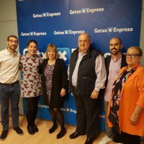 Ciudadanos muestra su compromiso con el comercio local de Getxo.