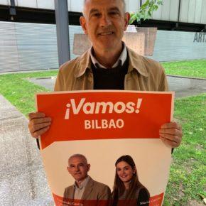 Fernando García arranca la campaña de Ciudadanos reclamando un Bilbao seguro