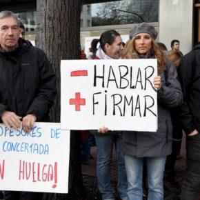 """Gordillo: """"El Gobierno Vasco no se está esforzando en dar una solución a las familias afectadas por la huelga de la concertada"""""""