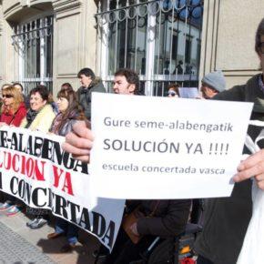 """Gordillo: """"Lamentamos que un mediador tenga que hacer el trabajo del Gobierno Vasco para resolver los problemas de la educación concertada"""""""
