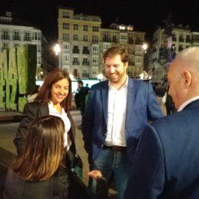 """Gordillo: """"El voto a Ciudadanos es el único recurso que tenemos en Euskadi los constitucionalistas"""""""