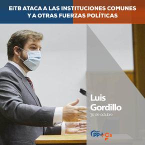 """Luis Gordillo: """"Hay que pasar de las buenas palabras a los hechos en EiTB"""""""