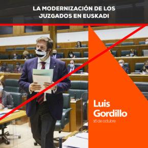 """Luis Gordillo: Gordillo: """"La moción para la modernización de los juzgados es un ejemplo de política útil al servicio de los ciudadanos"""""""
