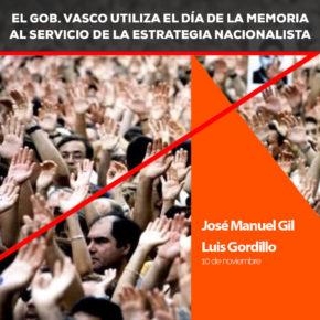 """Ciudadanos (Cs) Euskadi señala que """"recordar a las víctimas es una obligación democrática y pedagógica"""""""