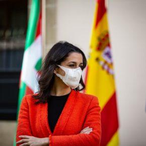 """José Manuel Gil: """"La visita de Inés Arrimadas nos da fuerza para seguir trabajando en una Euskadi en la que quepamos todos"""""""